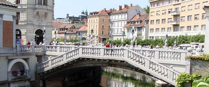 Ljubljana Three bridge