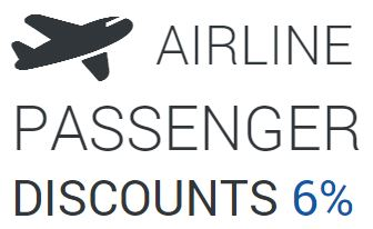 airline passenger discount